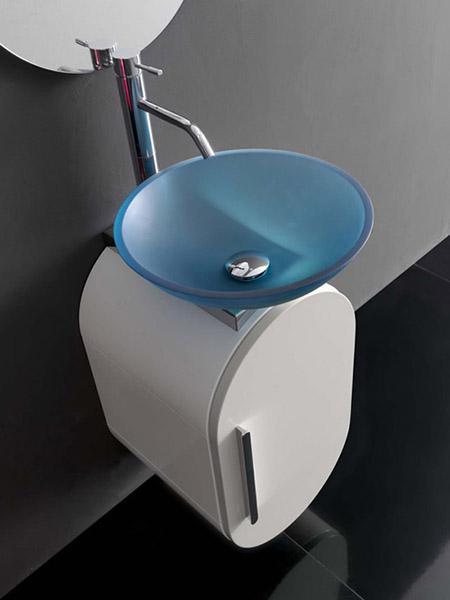 Contemporary Bathroom Vanity from Lasa Idea, Small ...