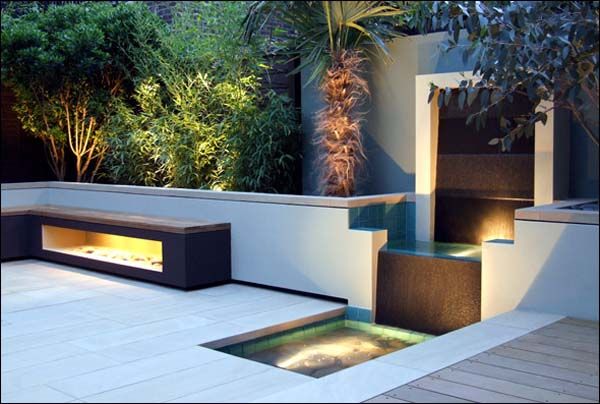 Contemporary Small Garden Design, Creative Yard Landscaping Ideas