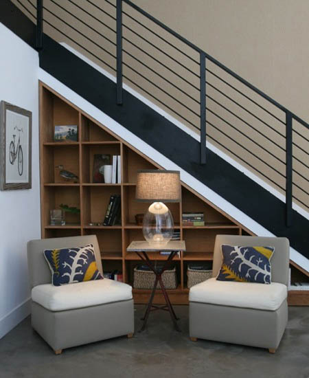 Staircase Ideas For Small Spaces: Modern Storage Ideas For Small Spaces, Staircase Design