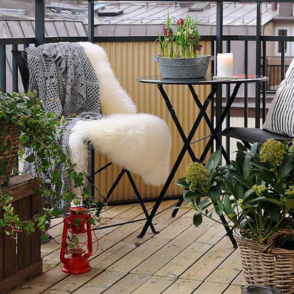 Balcony Furniture Design Ideas: 15 Green Decorating Ideas For Small Balcony, Spring Decorating