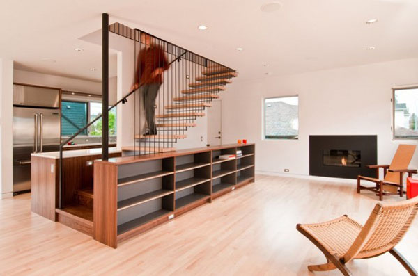 Modern Storage Ideas For Small Spaces Staircase Design