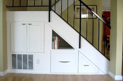 Staircase Storage Solutions For Small Homes