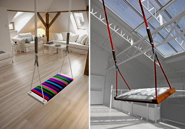 Fun Interior Decorating Ideas Swing Seats By Svvving