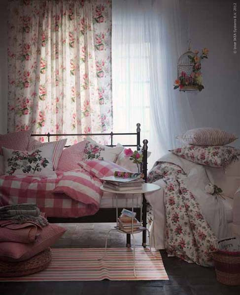 New Home Designs Latest December 2012: New Decorating Fabrics From IKEA, Striped Fabrics And
