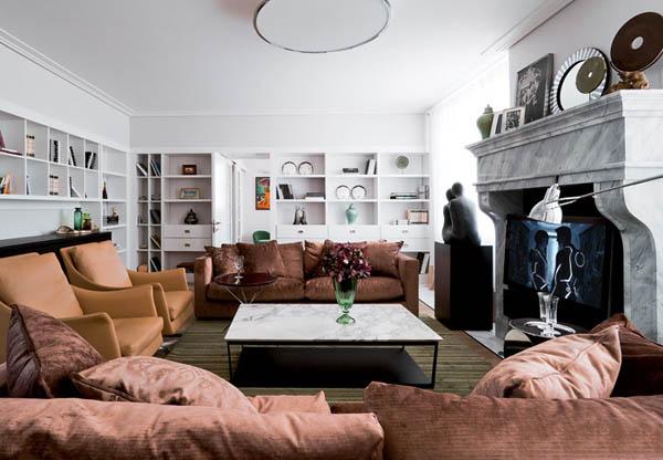 Elegant And Artistic Apartment Ideas