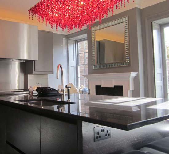 Crystal Chandeliers From Lolli E Memmoli Modern Lighting Fixtures - Crystal chandelier in kitchen