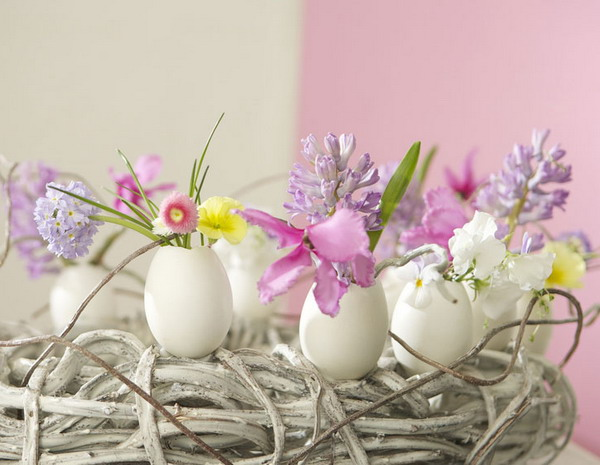 Easter Egg Decorations And Table Centerpieces 15 Creative Easter Ideas