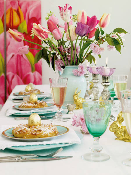 floral arrangements for easter decorating
