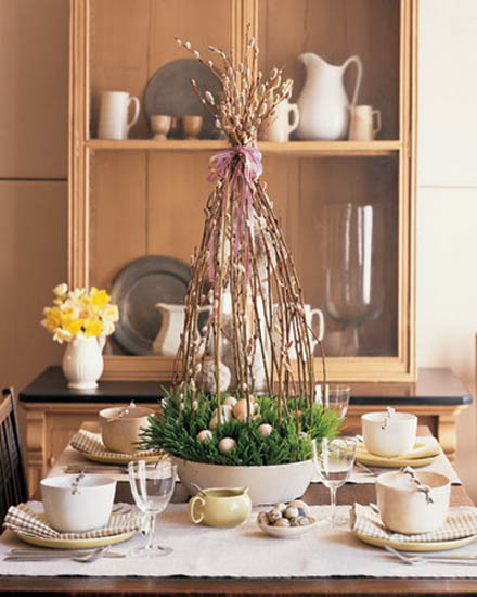 Wonderfull Easter Decorations Table Design Ideas: 14 Colorful Easter Ideas For Spring Holiday Table Decoration