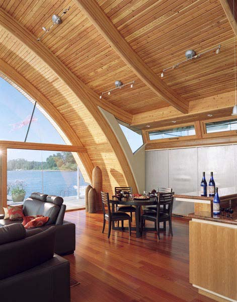 sloping ceiling design