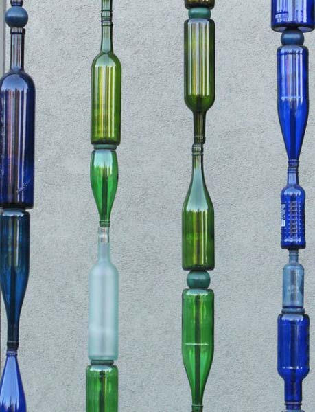 reuse and recycle glass bottles