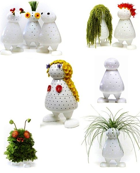 home decorations created with vases