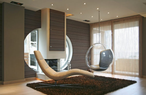 Modern House Designs and Interior Decorating Ideas, Oikia Panorama
