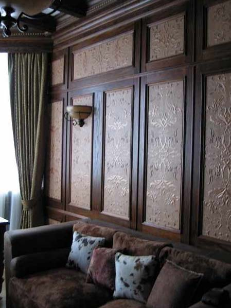 Leather Wall Paneling Luxurious Modern Interior Design Ideas