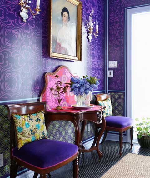 Bright Color Combinations For Interior Decorating By Holly