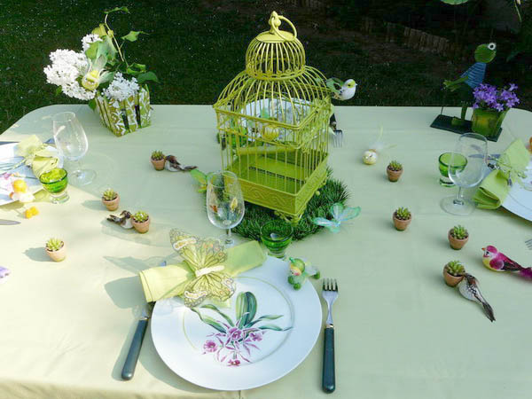 Table Decorating Ideas Spring Holiday Decor With Butterflies