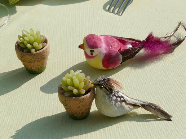 Accessoires pour table de printemps