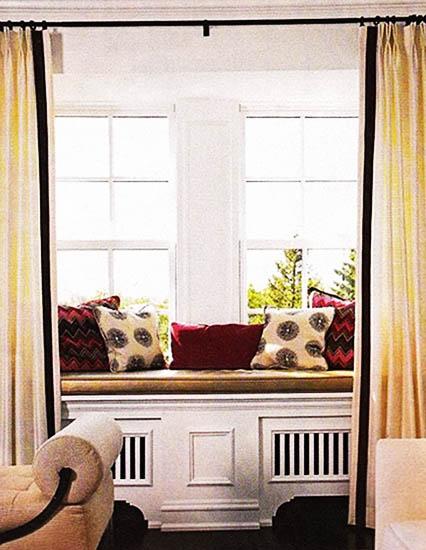 9 Window Seat Designs With Heaters, Modern Interior Design Ideas