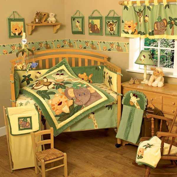 20 Beautiful Baby Boy Nursery Room Design Ideas Full Of: African Decorating Theme, 20 Kids Room Decorating Ideas