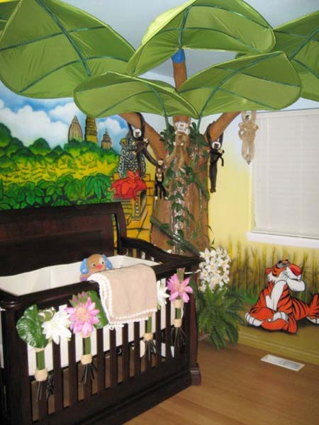 African Decorating Theme For Children Bedrooms
