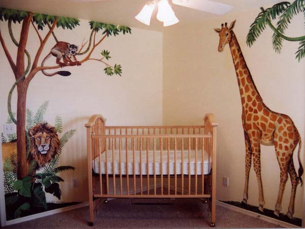 African Decorating Theme 20 Kids Room