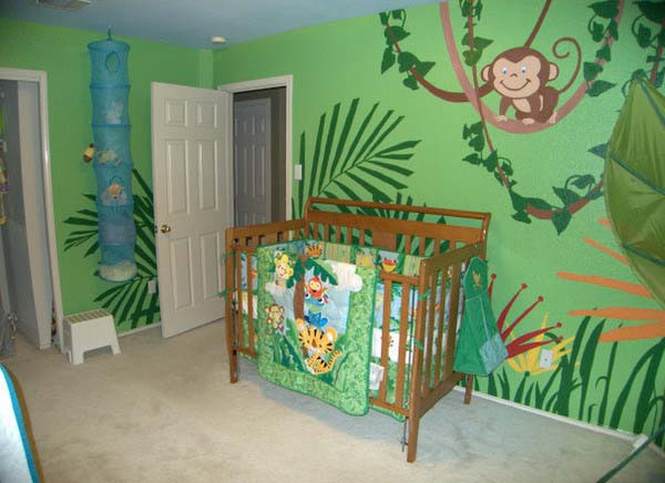 African Inspired Baby Rooms