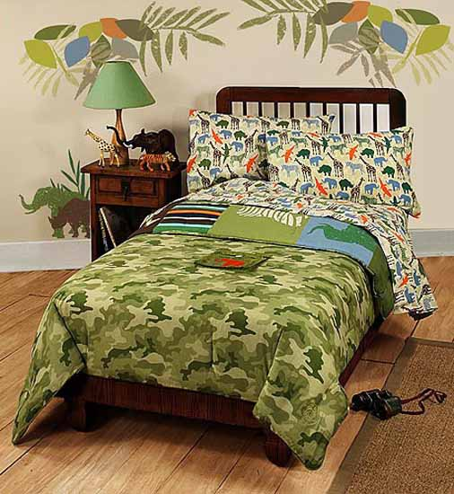 African Decorating Theme, 20 Kids Room Decorating Ideas