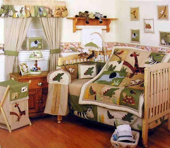20 Extremely Lovely Neutral Nursery Room Decor Ideas That: African Decorating Theme, 20 Kids Room Decorating Ideas