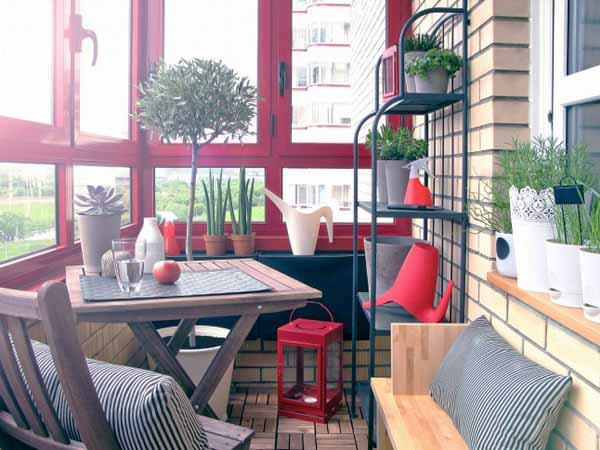 20 Hassle Free Zen Dining Room Decorating Ideas: Balcony Enclosure And Decorating Ideas, 22 Small Sun Rooms