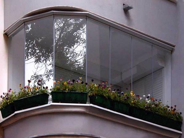 glass balcony as home addition, apartment ideas