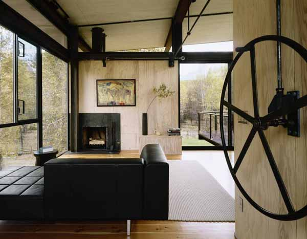Steel Cabin Design By Olson Kundig Architects Modern Houses