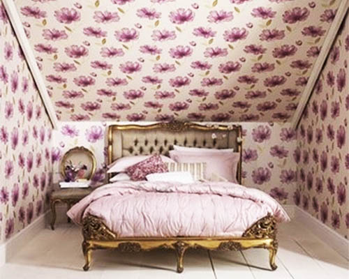 . Ceiling Designs  15 Ideas for Ceiling Decorating with Modern Wallpaper