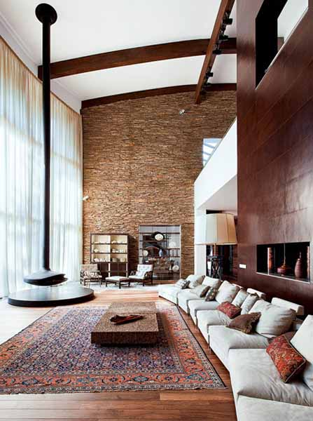 Living Room With Fireplace Design Ideas: 10 Gorgeous Fireplace Designs, Modern Interior Design