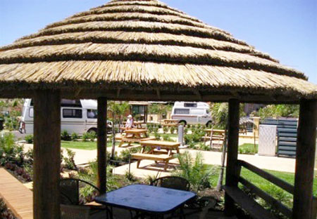Thatched Roofing For Gazebos And Sheds Gorgeous Backyard