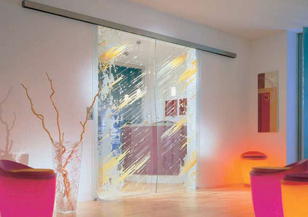 Interior Glass Doors, 11 Bright and Modern Interior Design Ideas