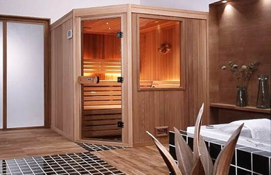 Sauna With Infrared Heater Contemporary Addition To Modern