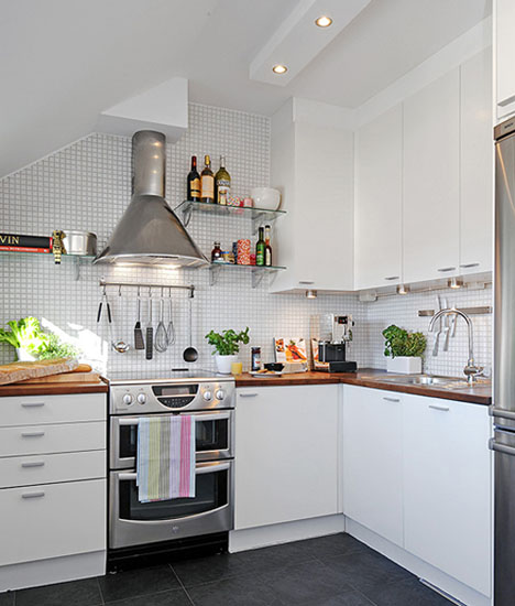 modern white small space saving kitchen appliances | Small Kitchen Designs, 15 Modern Kitchen Design Ideas for ...