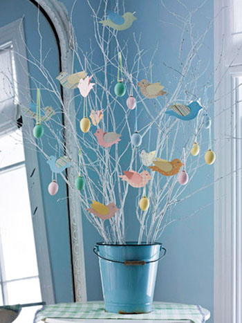 easter decorations and paper crafts for kids