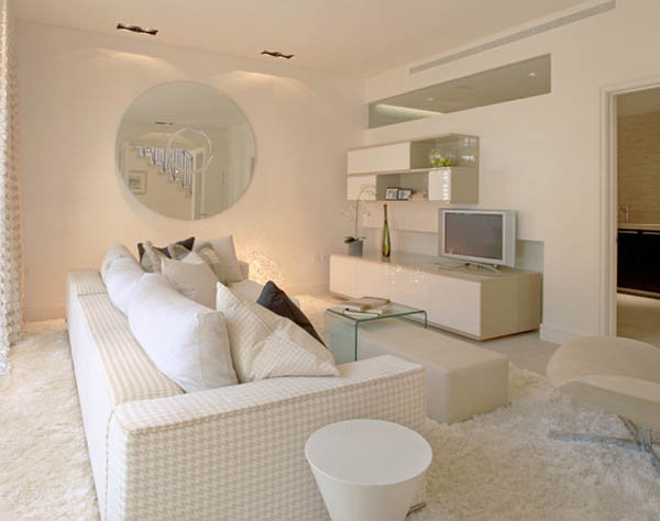Soft White Paint Colors And Living Room Furnishings