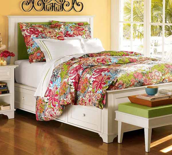 Colorful Bedroom Designs: 15 Colorful Bedroom Designs, Cheerful And Bright Bedroom