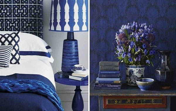 Sapphire Blue Room Colors Deep Blue Color Combinations