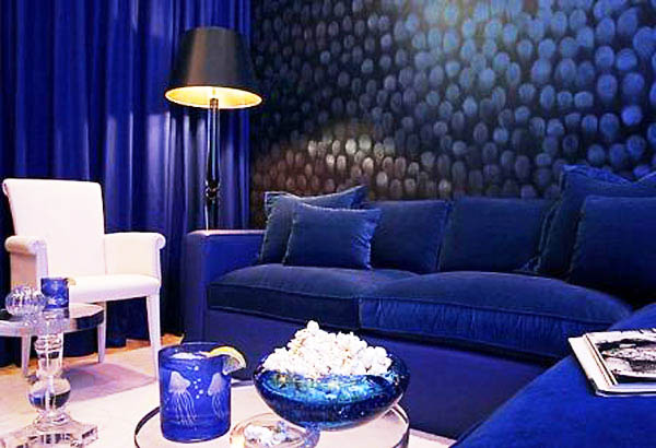 Sapphire blue room colors deep blue color combinations for Ocean blue color combinations