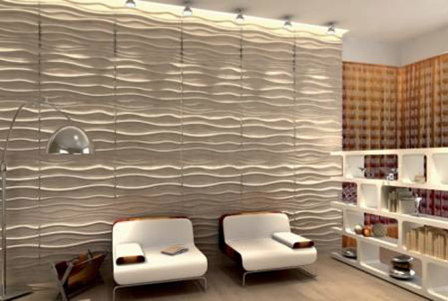 Colorful Wall Paneling Contemporary Patterns
