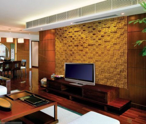 Colorful Wall Paneling, Contemporary Patterns