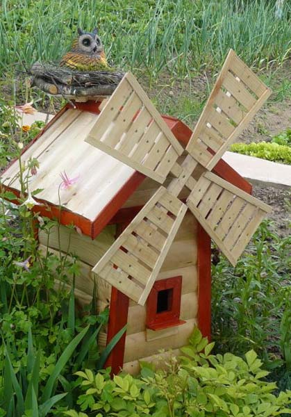 Backyard Items creative handmade garden decorations, 20 recycling ideas for