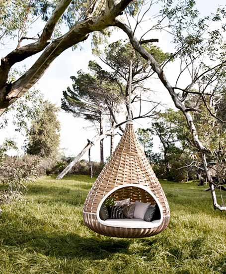 Outdoor Wicker Furniture Collection From Dedon Innovative