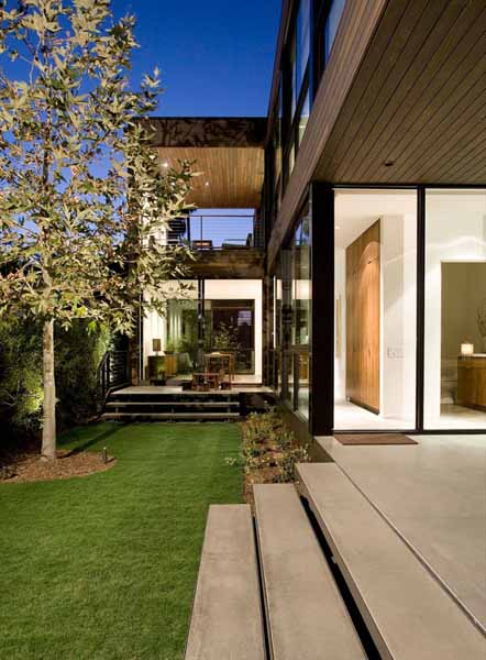 Eco House Design Hobart: Californian Eco Homes, Palms Residence By Marmol Radziner