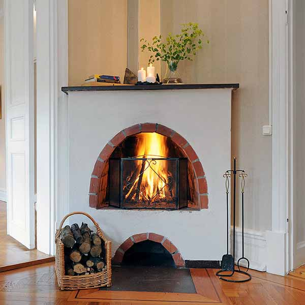 Decorating Inspiration: Modern Homes With Fireplaces, Beautiful Fireplace Mantel
