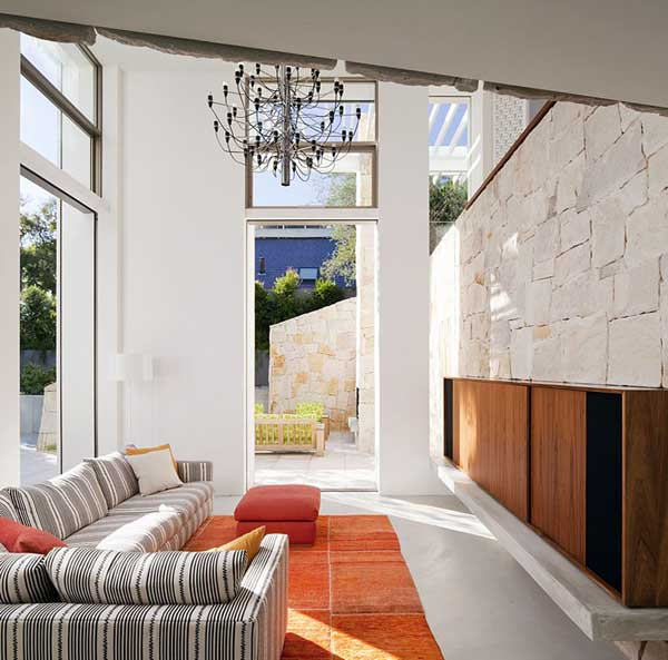 Light Sandstone House Design by MCK Architects, Luxurious Honiton ...