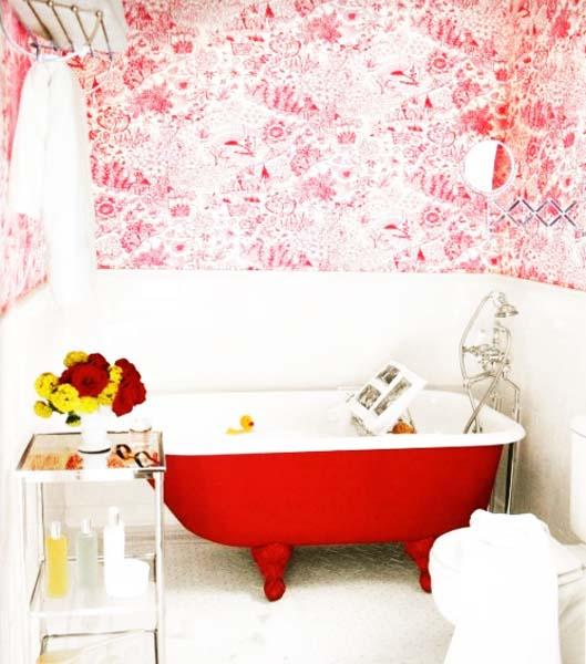 15 Interior Decorating Ideas Adding Bright Red Color To